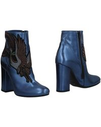 Giancarlo Paoli Ankle Boots - Blue