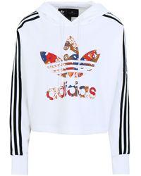 adidas Originals Felpa - Bianco
