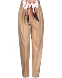 Burberry Casual Trousers - Natural