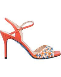 Loriblu Sandals - Orange