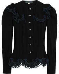 ALEXACHUNG Shirt - Black