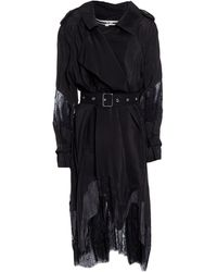 McQ Overcoat - Black