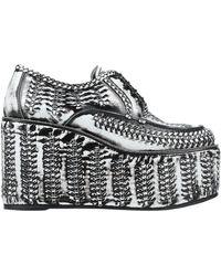 Prada Lace-up Shoe - White
