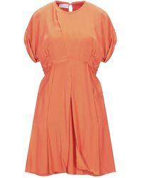 Carven Short Dress - Orange