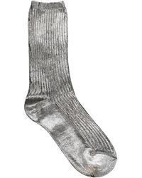 Acne Studios Socken & Strumpfhosen - Grau