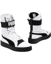 PUMA Ankle Boots - White