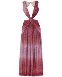 PATBO Robe longue - Rouge