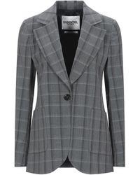 Essentiel Antwerp Suit Jacket - Grey