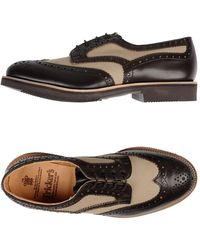 Tricker's Lace-up Shoes - Brown