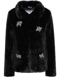 Shrimps Teddy coat - Nero