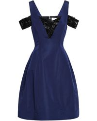 Prabal Gurung Short Dress - Blue