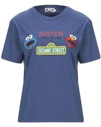 Paul & Joe Camiseta - Azul