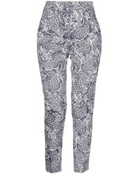 Peserico Casual Trousers - Blue
