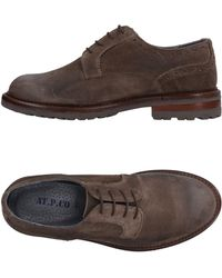 AT.P.CO Lace-up Shoe - Brown