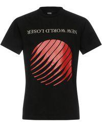 Hood By Air Printed Losers T-shirt - Black