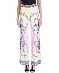 Blue Les Copains Pantalones - Amarillo