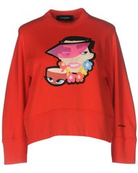 DSquared² Sweat-shirt - Rouge