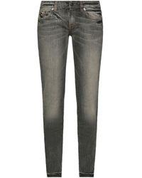 RED Valentino Denim Trousers - Grey