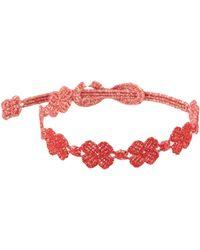 Cruciani Bracelet - Rouge