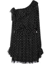 Saint Laurent - Knee-length Dress - Lyst