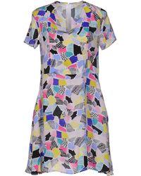 Maison Kitsuné - Short Dress - Lyst