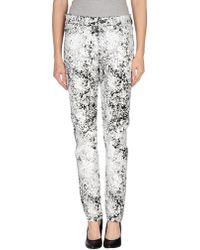 McQ Casual Trouser - White
