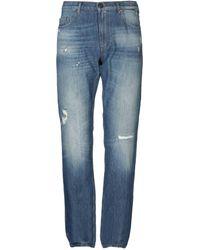 Versace Jeans Couture Pantalon en jean - Bleu