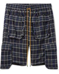 Rhude Bermuda Shorts - Blue