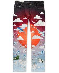 CASABLANCA Pantaloni jeans - Nero