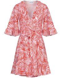 Au Jour Le Jour Short Dress - Orange