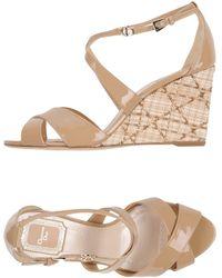 Dior Sandals - Natural