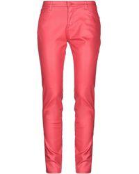 Emporio Armani Denim Pants - Red