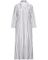 Camicettasnob 3/4 Length Dress - White