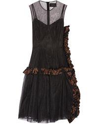 Simone Rocha Knee-length Dress - Black