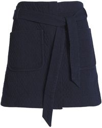 Rag & Bone Minifalda - Azul