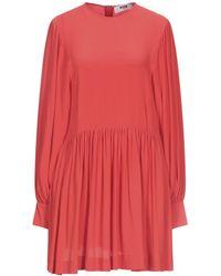 MSGM Short Dress - Red