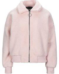 Glamorous Faux Fur - Pink