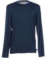 Armani Camiseta - Azul
