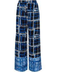 House of Holland Pantalon - Bleu