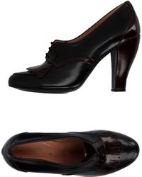 Robert Clergerie Lace-up Shoe - Black