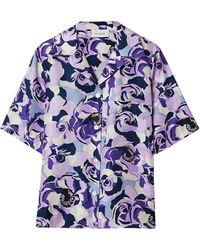 Art Dealer Shirt - Purple