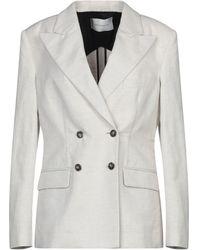Cedric Charlier Suit Jacket - White