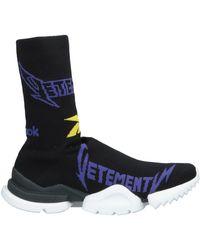 Vetements Sneakers abotinadas - Negro