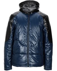 True Religion Synthetic Down Jacket - Blue