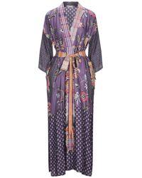 Anjuna Midi Dress - Purple