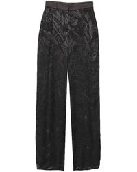 LES BOURDELLES DES GARÇONS Trouser - Black