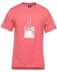 Stussy T-shirts - Pink