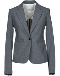 ..,merci Suit Jacket - Grey