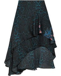 Preen By Thornton Bregazzi Knee Length Skirt - Blue
