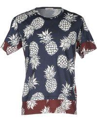 433eef84b625 Valentino - Ananas Print Cotton Jersey T-shirt - Lyst